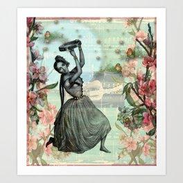Gypsy Love Song Art Print