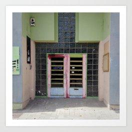 Doors of Perception 9 Art Print