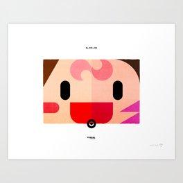 PKMNML #035 - 036 (EVOLUTION) CLE FAIRY - CLE FABLE Art Print