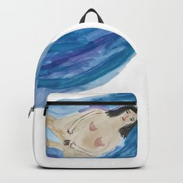 Bathing Woman Backpack