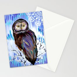 Owl Phone case Stationery Cards