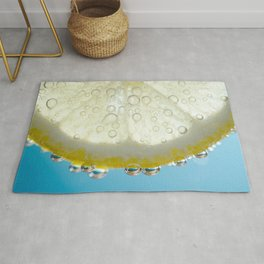Bubbly Lemon 2 Rug