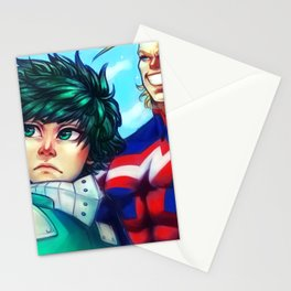 Hero Academia: One For All Stationery Cards