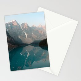 Sunrise over Moraine Lake Stationery Cards