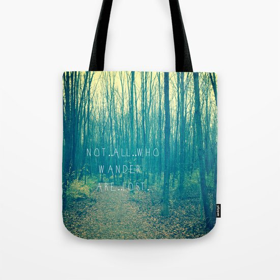 Wander in the Woods Tote Bag