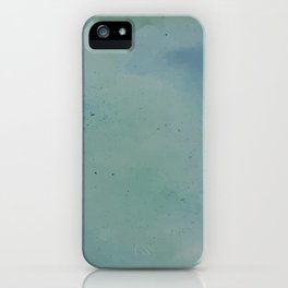 Watercolour Lagoon iPhone Case