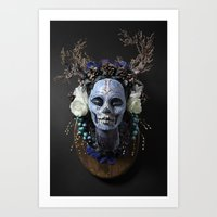 Winter Muertita Front Art Print