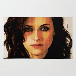 Kristen Stewart Portrait #2 Rug