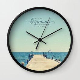 KickStart Wall Clock