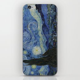 The Starry Night by Vincent van Gogh iPhone Skin