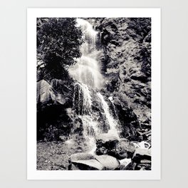 Waterfall 3, Colorado Art Print