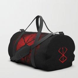 Black Marked Berserk Duffle Bag