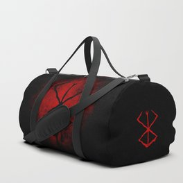 Black Marked Berserk Duffle Bag