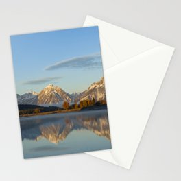 October Sunrise at Oxbow Bend Stationery Cards