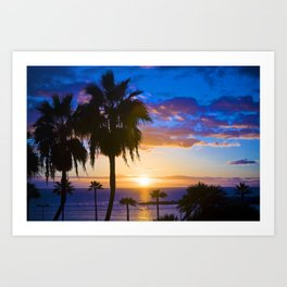 Palm tree 1.0 Art Print