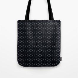 Black small frozen Tote Bag