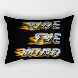 Ride the Wind Rectangular Pillow