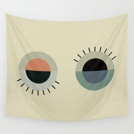 day eye night eye Wall Tapestry