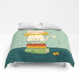 Criticat - your best book reviewer  Comforters