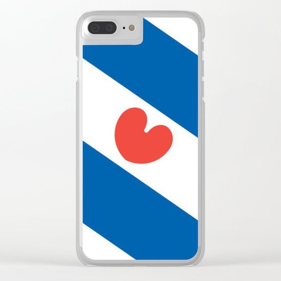 Flag of Friesland Clear iPhone Case