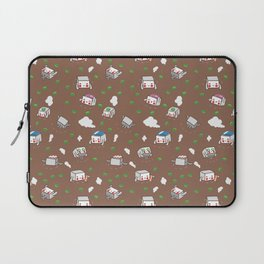 Miso Soup with Tofu and Green Onions Laptop Sleeve
