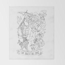 The Adventure Zone: Tres Horny Boys Throw Blanket