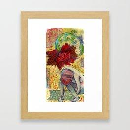 Dream Becoming Framed Art Print