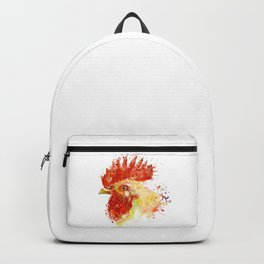 Rooster Head Backpack