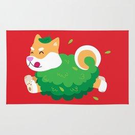 Bush Dog Rug