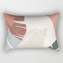 Banana leaf, Plant, Wall Art Print, Tropical, Minimalist  Rectangular Pillow