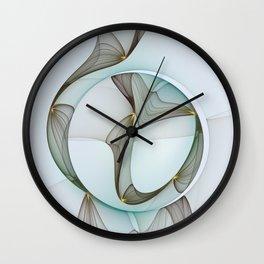 Abstract Elegance Wall Clock