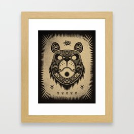 BEAR 4 Framed Art Print