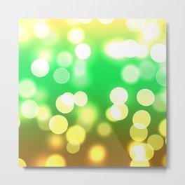Soft Lights Bokeh 3 Metal Print