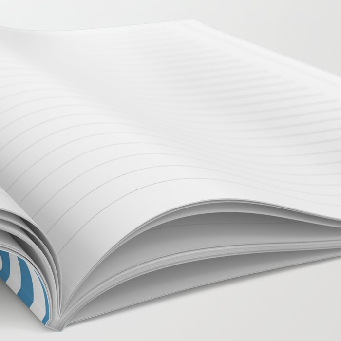 Blue & White Secret Passage Notebook