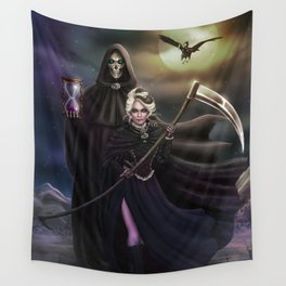 Grim Reapers Wall Tapestry
