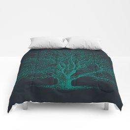 Antique Tree Illustration III Comforters
