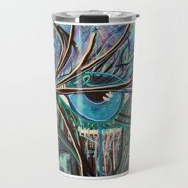 Eye Protect Abstract eye Painting Travel Mug