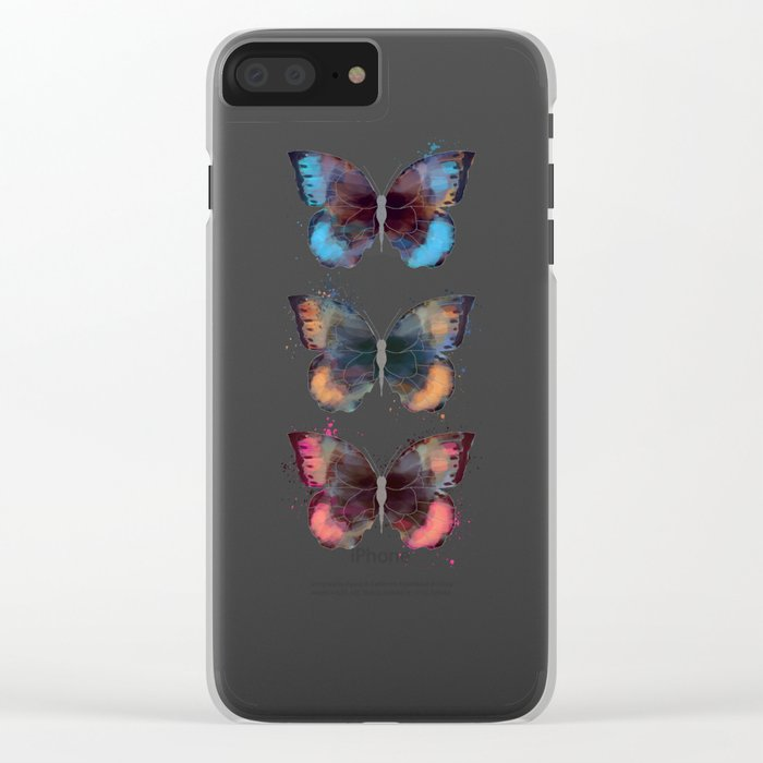 butterfly's Clear iPhone Case