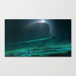 Void Sector 2.0 Canvas Print
