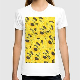 sunflower pattern 2018 1 T-shirt