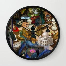 The Battlefield Wall Clock