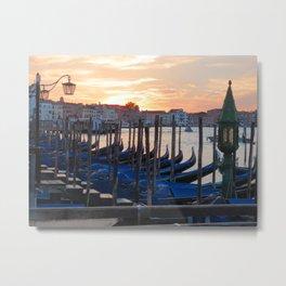Venice at Dawn 3 Metal Print