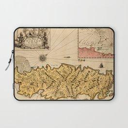 Map Of Tobago 1680 Laptop Sleeve