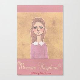 suzy b pink Canvas Print