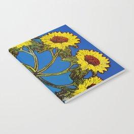 Sunflower Wreath Notebook