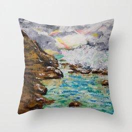 SUNRISE AT BURLEIGH HEADS Throw Pillow