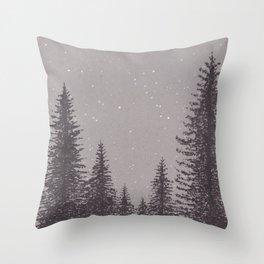 Timber Cove Night Throw Pillow