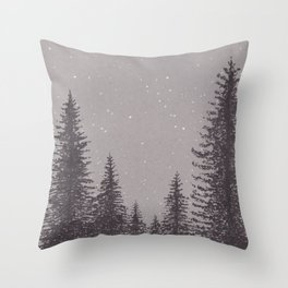 Timber Cove Night Throw Pillow