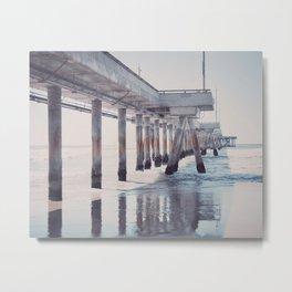 The pier Metal Print