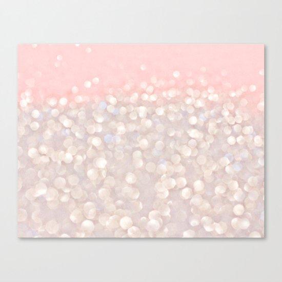 Pink Glitz Canvas Print